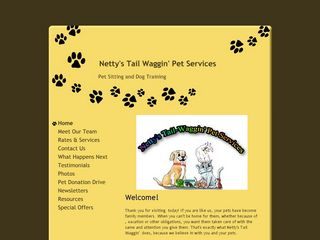 Nettys Tail Waggin Pet Services | Boarding