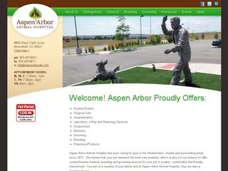 Photo of Aspen Arbor Animal Hospital in Broomfield