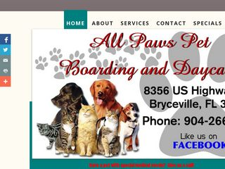 All Paws Pet Boarding and Day Care Bryceville