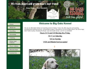 Big Oaks Kennel | Boarding
