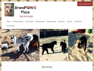 Grandpaws Place | Boarding