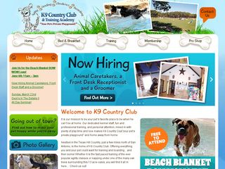 K 9 Country Club | Boarding