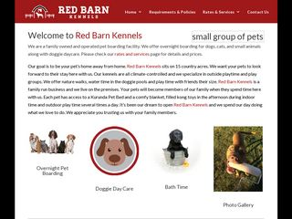 Red Barn Kennels | Boarding