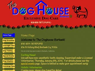 The Dog House Burbank | Boarding