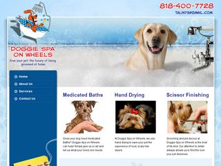 Doggie Spa On Wheels Burbank