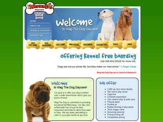 Wag The Dog Daycare | Boarding