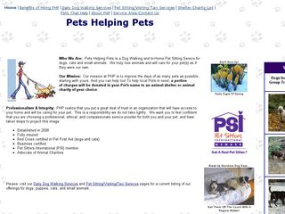 Pets Helping Pets Dog Walk Pet | Boarding
