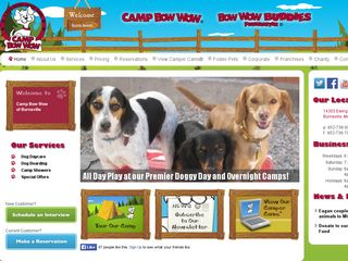 Camp Bow Wow Dog Boarding Burnsville Burnsville