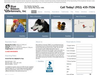 Blue Ribbon Boarding Kennels Burnsville