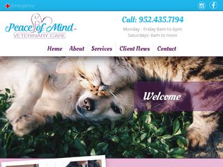 Peace of Mind Veterinary Care and Pet Hotel | Boarding