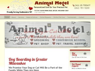 Animal Motel Butler