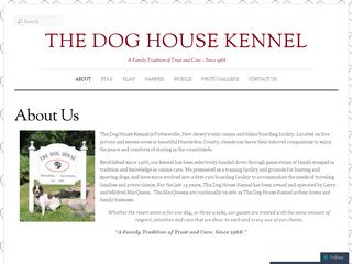 The Dog House Kennel Califon