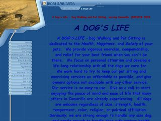 A DOGS LIFE Dog Walking and Pet Sitting | Boarding
