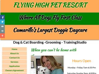 Flying High Pet Resort Camarillo