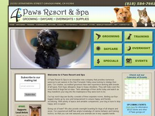 4 Paws Resort Spa Canoga Park