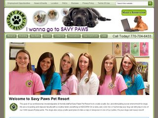 Savy Paws Pet Resort | Boarding