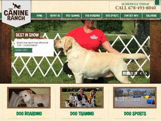 The Canine Ranch | Boarding