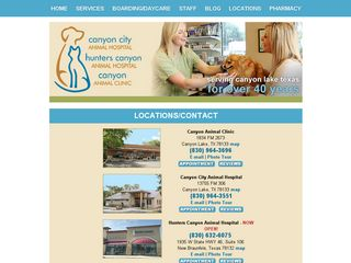 Canyon Animal Clinic Inc | Boarding