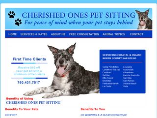Cherished Ones Pet Sitting Carlsbad