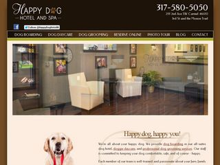 Happy Dog Hotel and Spa Carmel