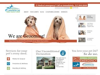 Companion Animal Medical Center | Boarding