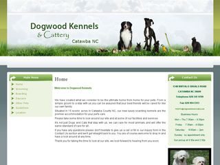 Dogwood Kennels and Cattery | Boarding