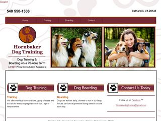 Hornbaker Dog Training | Boarding