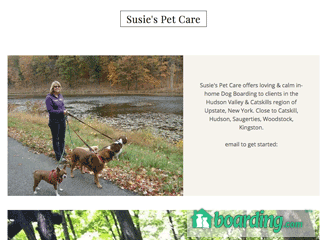 Susies Pet Care Catskill