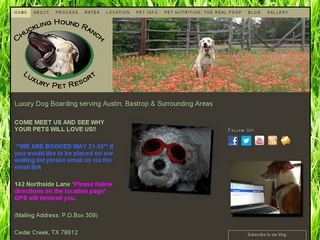 Chuckling Hound Ranch Luxury Pet Resort Cedar Creek