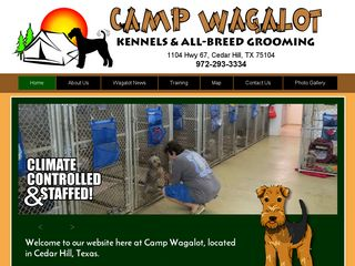 Camp Wagalot Kennels & All Breed Grooming Cedar Hill