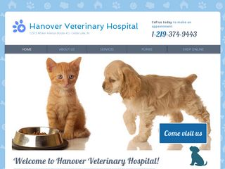 Hanover Veterinary Hospital Cedar Lake