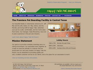 Happy Tails Pet Resort | Boarding