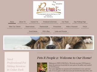 Pets R People 2 LLC | Boarding