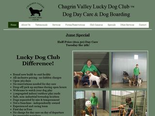 Chagrin Valley Lucky Dog Club | Boarding