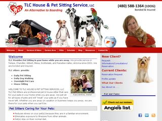 TLC House & Pet Sitting Service LLC | Boarding