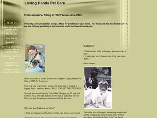 Loving Hands Pet Care | Boarding