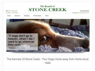 The Kennels Of Stone Creek | Boarding