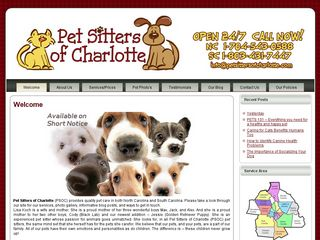 Pet Sitters of Charlotte | Boarding