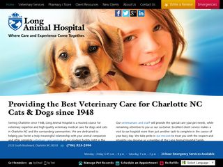 Photo of Long Animal Hospital in Charlotte