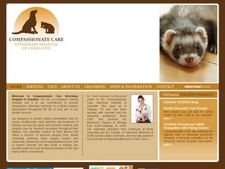 Compassionate Care Veterinary Hospital Charlotte