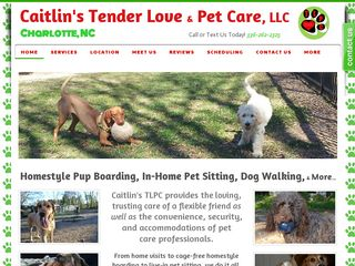 Caitlins Tender Love & Pet Care LLC | Boarding