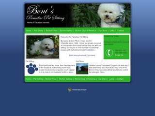 Bonnis Paradise Pet Sitting Charlotte