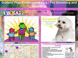 Grateful Pets Boarding   Grooming Charlotte