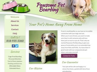 Chatsworth Paws Pet Boarding | Boarding