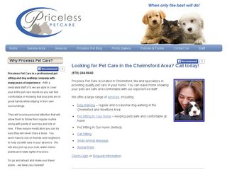 Priceless Pet Care Chelmsford