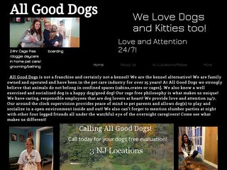 All Good Dogs Daycare Cherry Hill | Boarding