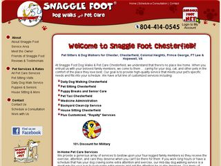 Snaggle Foot Dog Walks & Pet Care Chester