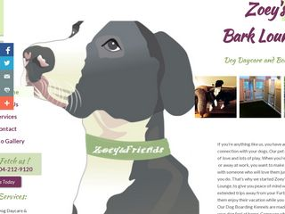 Zoeys Bark Lounge | Boarding