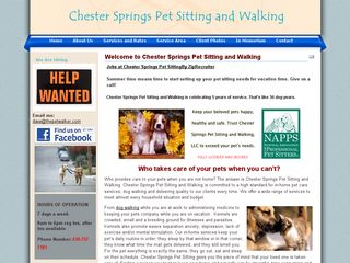 Chester Springs Pet Sitting and Walking Chester Springs
