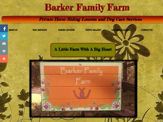 Barker Family Farm Boarding Chesterfield